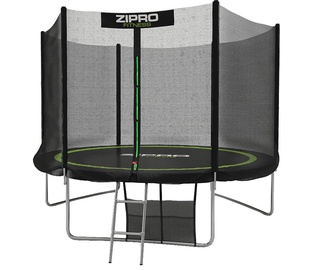 Zipro Trampoline 252cm with External Net + Shoe Bag