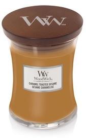 Свеча WoodWick Caramel Toasted Sesame, 60 час