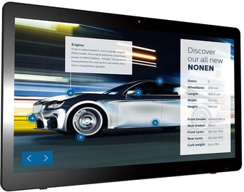 Philips Multi-Touch Display 24BDL4151T