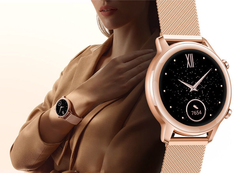 Nutikell Huawei Honor Magic Watch 2, kuldne