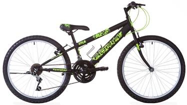 "Jalgratas Capriolo Adria Spam 24"" Black Green"