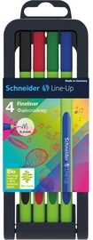 Schneider Pen Line-Up Fineliner 4pcs 191094