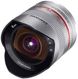Samyang 8mm F2.8 UMC Fish-eye II Fuji X Silver