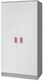 Idzczak Meble Smyk II 06 Wardrobe 2D Grey/Pink