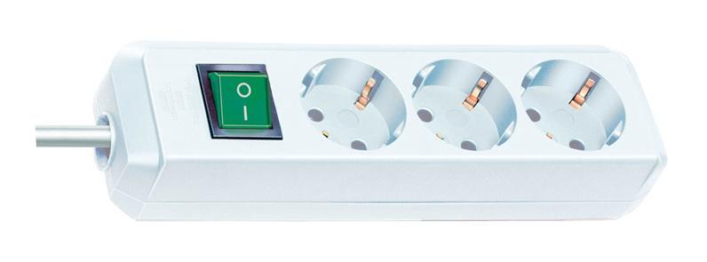 Pikendusjuhe Brennenstuhl Eco-Line 1152920 3 Outlets 5m White