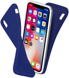 SBS Polo Back Cover For Apple iPhone X Blue