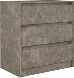 Komoda Top E Shop Karo K3 Concrete, 70x43x78 cm