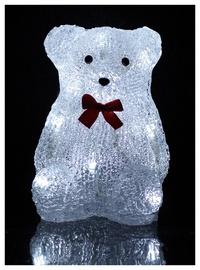 Kalėdinė dekoracija Meškutis XY-BL2-10B, 10 LED, 17cm