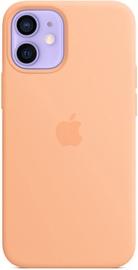 Apple iPhone 12 mini Silicone Case with MagSafe Cantaloupe