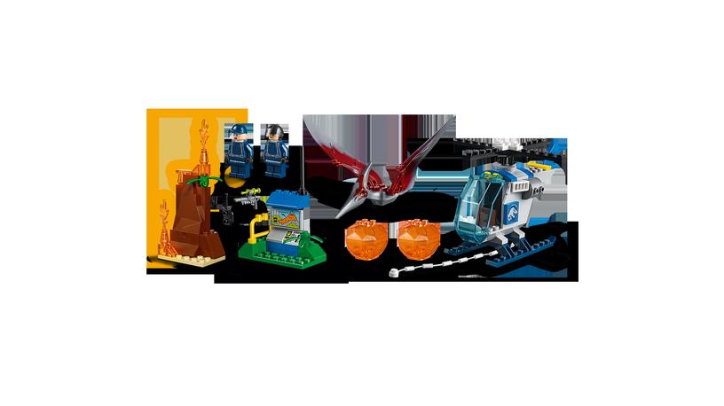 Конструктор LEGO Juniors Pteranodon Escape 10756 10756, 84 шт.