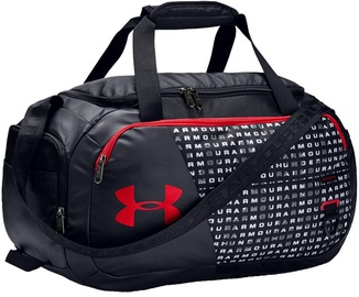 Under Armour Undeniable 4.0 XS Duffle 1342655-002 Black/Red