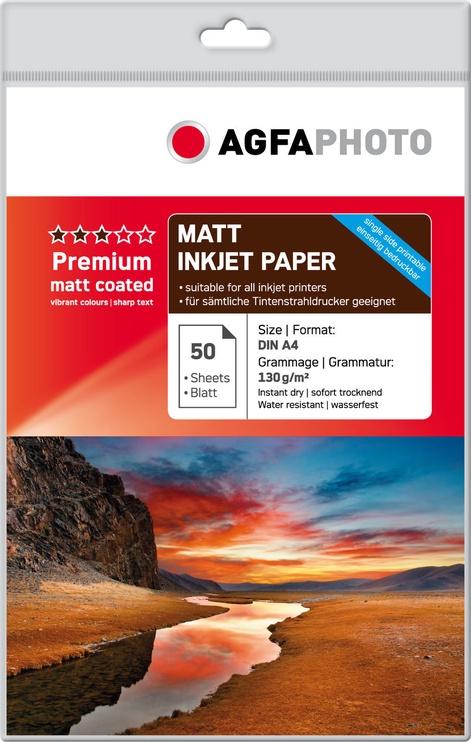 Фотобумага AgfaPhoto Premium Matt Photo Paper A4 50pcs