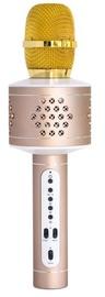 Technaxx Pro BT-X35 Karaoke Microphone Gold/Silver
