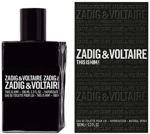 Kvepalai Zadig & Voltaire This Is Him! 100ml EDT