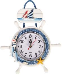 Home4you Wall Clock Beach House D22cm