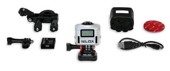 Nilox EVO 360 Action Camera Silver