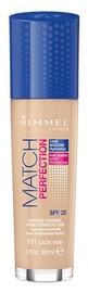 Rimmel London Match Perfection Foundation SPF20 30ml 101