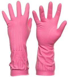 DD Rubber Gloves Pink M