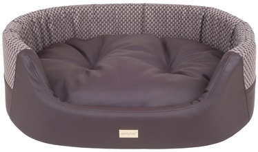 Amiplay Morgan Dog Ellipse Bedding L 73x64x22cm Brown