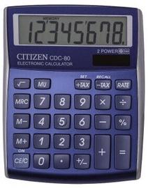 Kalkulaator Citizen CDC-80BLWB, sinine