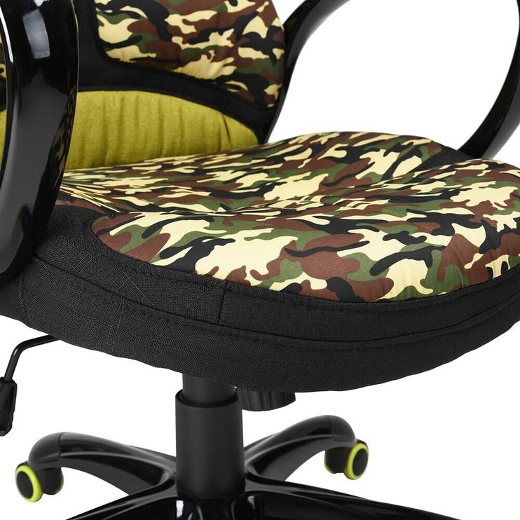 Kontoritool Edmund Camouflage, roheline