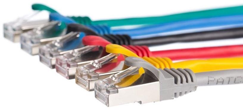Netrack CAT 5e FTP/STP Patch Cable Black 2m