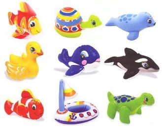 Intex 58590 Puff N Play Bath Toy