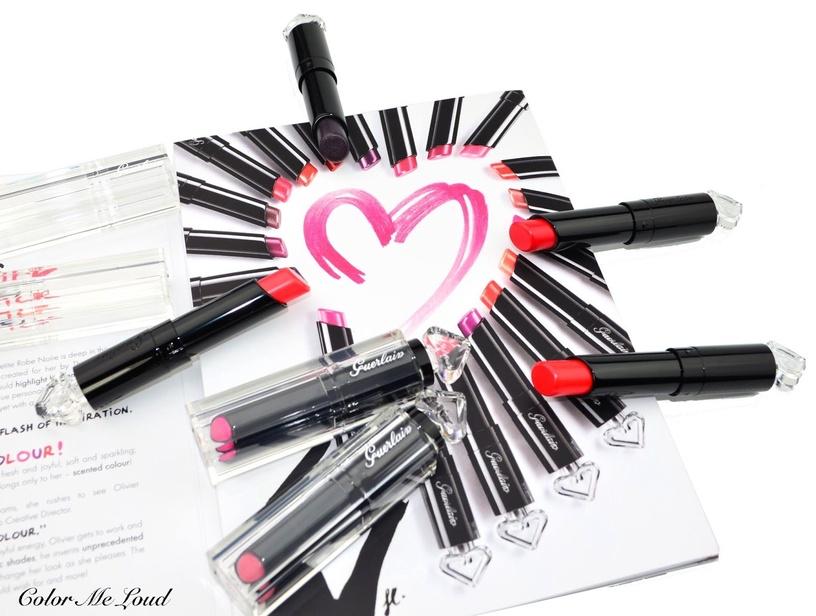 Lūpų dažai Guerlain La Petite Robe Noire Deliciously Shiny Lip Colour 020, 2.8 g