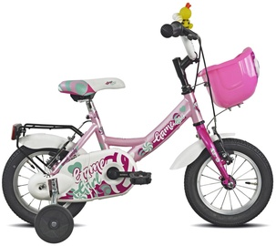 """Vaikiškas dviratis Esperia Mascotte 9900, rožinis, 12"""""""