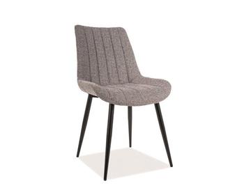 Signal Meble Zoom Chair Grey/Black