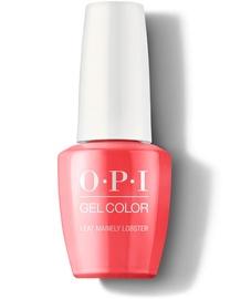 Лак-гель OPI Gel Color I Eat Mainely Lobster, 15 мл