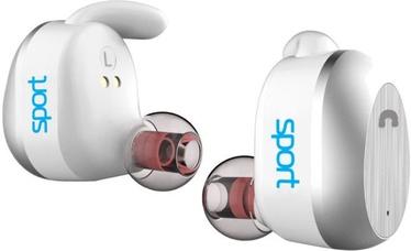 Ausinės Elari NanoPods Sport Wireless In-Ear Earphones White