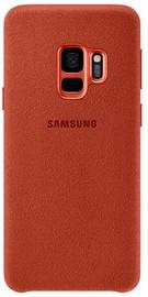 Samsung Alcantara Back Cover For Samsung Galaxy S9 Red