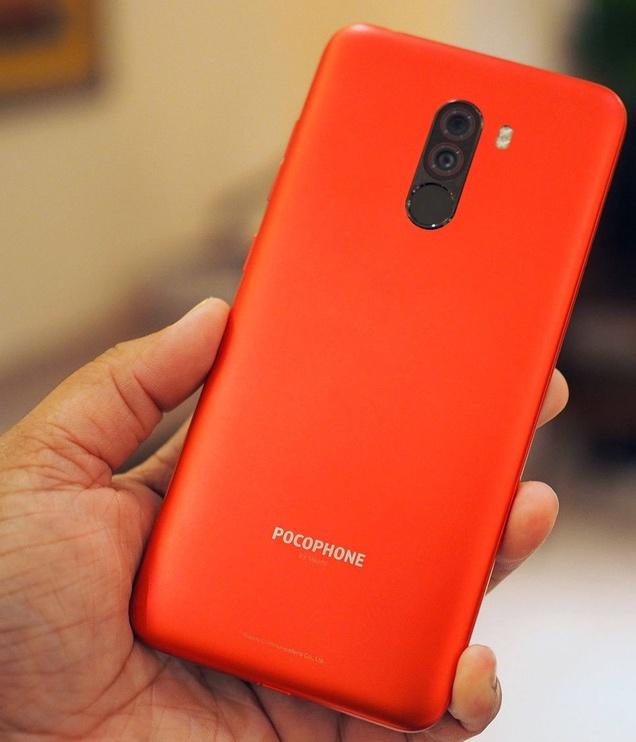 Xiaomi Pocophone F1 64GB Dual Red