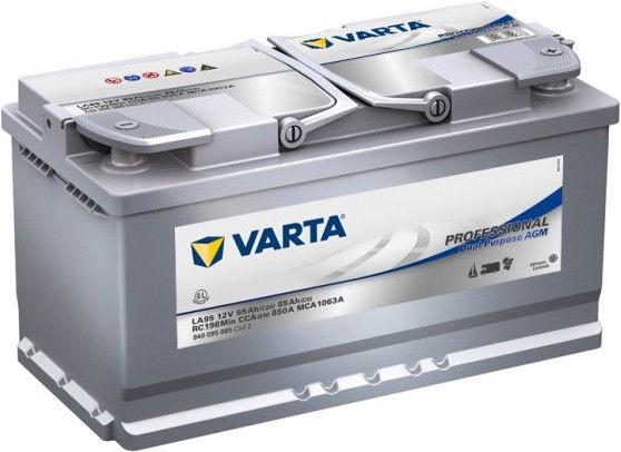 Аккумулятор Varta Professional AGM LA95, 12 В, 95 Ач, 850 а