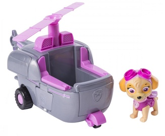 Spin Master Vehicle With Figure Paw Patrol Skye Transforming Helicopter