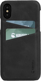 Krusell Sunne 2 Card Back Case For Apple iPhone X/XS Black