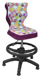 Bērnu krēsls Entelo ST32 Purple/Owls