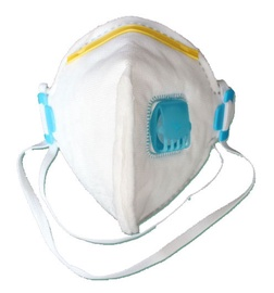 Sulankstomas respiratorius, su vožtuvu VIC832V FFP3