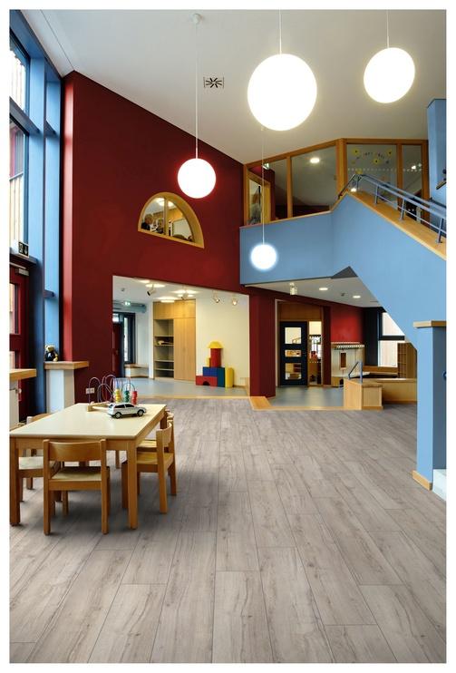 Medienos plaušų grindys Exquisit plus D3673, 1380x244x8mm