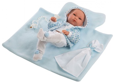 Llorens Baby Doll With Blue Blanket 35cm 63541