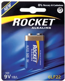 Rocket Alkaline 6LR22-1BB 9V 1pcs