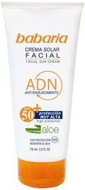 Babaria Aloe Vera Facial Sun Cream SPF50 75ml