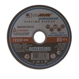 Pjovimo diskas, 125 x 0.8 x 22.23 mm