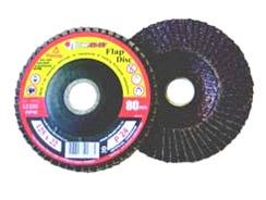 Žiedlapinis šlifavimo diskas Luga Abraziv, 125x22.23 mm