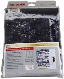 Ridder Shower Curtain Brick 1800x2000mm