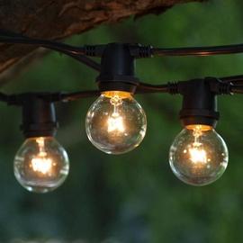 Girlianda, 20 LED, šilta balta, 10 m