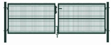 Garden Center Gate RAL6005 4000x1230mm Green
