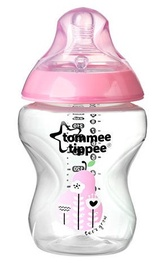 Tommee Tippee Closer To Nature Decorated Feeding Bottle 260ml 42250287