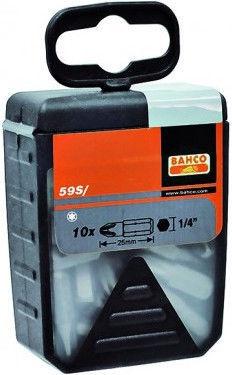 Bahco TORX T40 Bit Set 25mm 30pcs